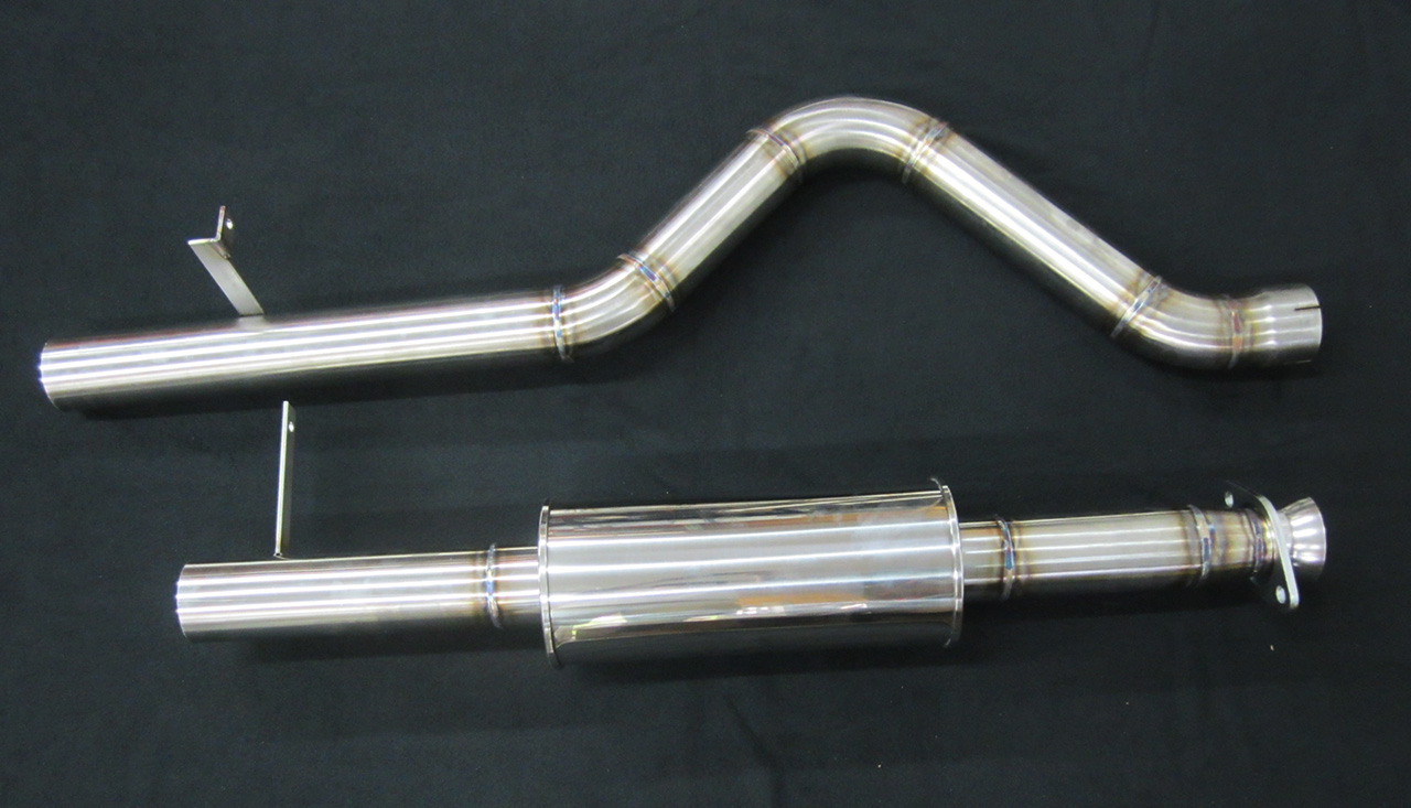 3 Quot Syclone Catback Exhaust System News Gmc Syclone And